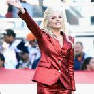 Lady Gaga et son fard à paupières rouge en 2017