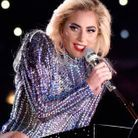 Lady Gaga et son maquillage glamour en 2017