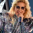 Lady Gaga et son regard strassé en 2017