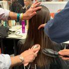 PHOTO N°2 : Les cheveux lisses