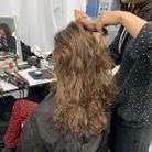 PHOTO N°3 : Les cheveux bouclés