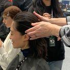 PHOTO N° 5 : Les cheveux en arrière