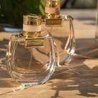 Les jolis flacons des fragrances Nomade, eau de parfum et eau de toilette