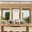 Les parfums Chloé prennent possession de la cour du Palais Royal