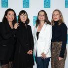 L'équipe Beauté ELLE : Elisabeth Martorell, Isabelle Sansonetti, Julie Chanut Bombard, Lauriane Seignier