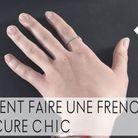Comment se faire une french manucure chic ?
