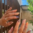 Abstract Nails de Kylie Jenner