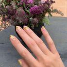 La Floral Nail Art de Kendall Jenner