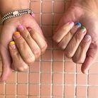 Rainbow nails la tendance manucure 2020