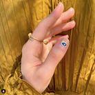 Evil Eye Nails version dorée