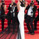 Bella Hadid en robe Jean Paul Gaultier