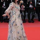 La robe brodée d'Isabelle Adjani