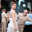 "Bella Hadid, en route pour assister à la projection de ""Rocketman"""