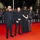 Anthony Vaccarello, Béatrice Dalle, Charlotte Gainsbourg et Gaspar Noé