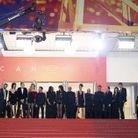 """L'équipe du film """"Lux Aeterna"""""""