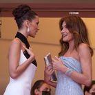 Bella Hadid et Carla Bruni
