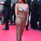 Eva Longoria en robe sexy Cristina Ottaviano au Festival de Cannes