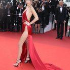 Bella Hadid sur le tapis rouge du festival en 2016