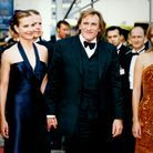 Leonardo DiCaprio aux côtés de Carole Bouquet, Gérard Depardieu et Judith Godrèche au Festival de Cannes en 1997