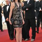 Charlotte Gainsbourg en robe Balenciaga au Festival de Cannes 2009