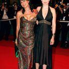 Léa Seydoux avec Lio lors de son premier Festival de Cannes en 2007