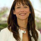Les cheveux longs de Sophie Marceau à Cannes en 2004