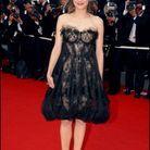 Marion Cotillard et sa robe transparante au Festival de Cannes