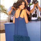 Penelope Cruz et sa robe à froufrous lors du photocall du Festival de Cannes en 2005