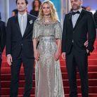 Vanessa Paradis et sa robe argentée au Festival de Cannes