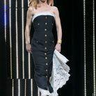 Vanessa Paradis et sa robe bustier au Festival de Cannes
