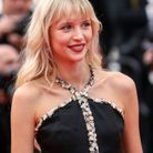 Le maquillage frenchy d'Angèle à Cannes