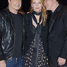 John Travolta, Uma Thurman et Quentin Tarantino