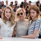 Les actrices Kristen Stewart, Nora Von Waldstatten et Sigrid Bouaziz