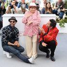 """JR, Agnès Varda et M présentent """"Visages Villages"""" à Cannes"""