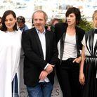 Marion Cotillard (en Y/PROJECT), Arnaud Desplechin, Charlotte Gainsbourg et Alba Rohrwacher (en Valentino)