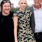 La productrice Christine Vachon, Michelle Williams (en Louis Vuitton) et Todd Haynes