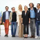 Sandrine Kiberlain (en Chloé), Elodie Bouchez, Guillaume Brac, Fabien Gaffez, Patrick Blossier, Thibault Carterot et Michel Merkt, jury de la Camé...