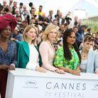 Les femmes qui composent le jury étaient radieuses !