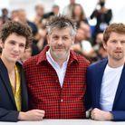 Le réalisateur Christophe Honoré et les acteurs Vincent Lacoste et Pierre Deladonchamps
