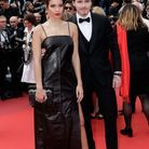 Brooklyn Beckham et Hana Cross en Salvatore Ferragamo