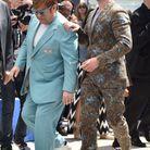 Elton John et Taron Egerton