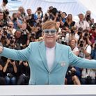 Elton John, ravi d'être à Cannes
