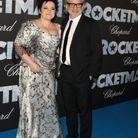 Dexter Flechter et sa femme