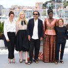 Alice Rohrwacher, Elle Fanning, Alejandro Gonzalez Iñarritu et Maimouna N'Diaye