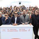 Les membres masculins du jury