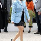 Léa Seydoux arrive sur la Croisette