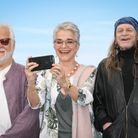 Jan Harlan, Katharina Kubrick et Leon Vitali