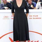 Zabou Breitman, ravissante en robe noire