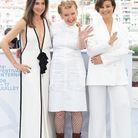 Elsa Zylberstein, Andrea Arnold et Mounia Meddour