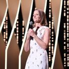 L'actrice a donné un discours en français